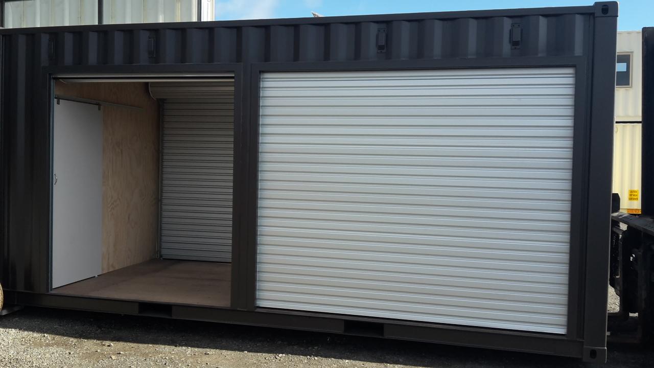 Roller Door Access Shipping Container Ctburd Citi Box