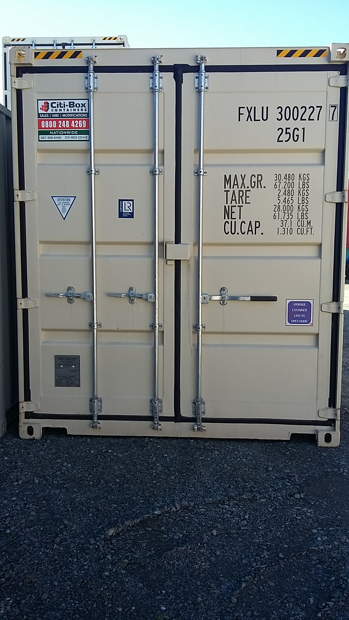 These ... & 20u2032 HIGH CUBE DOUBLE DOOR SHIPPING