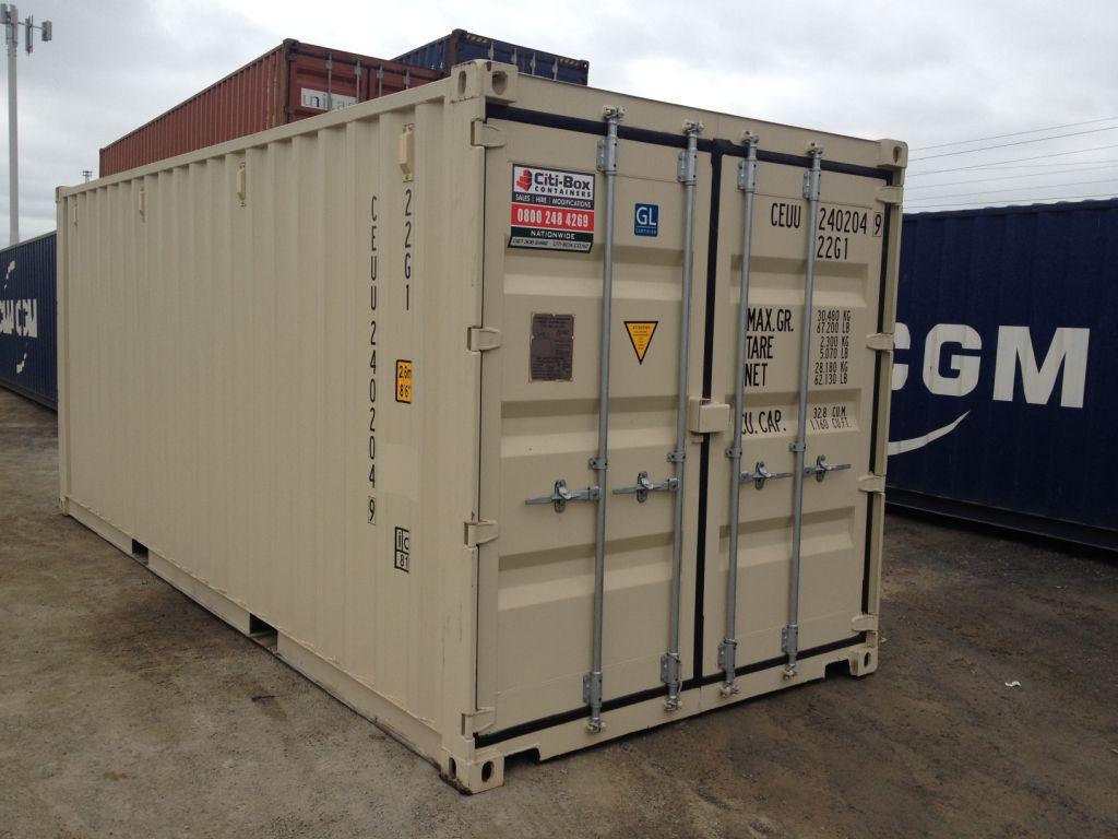 28 20 ft double door shipping 20 double door for Door to door transport