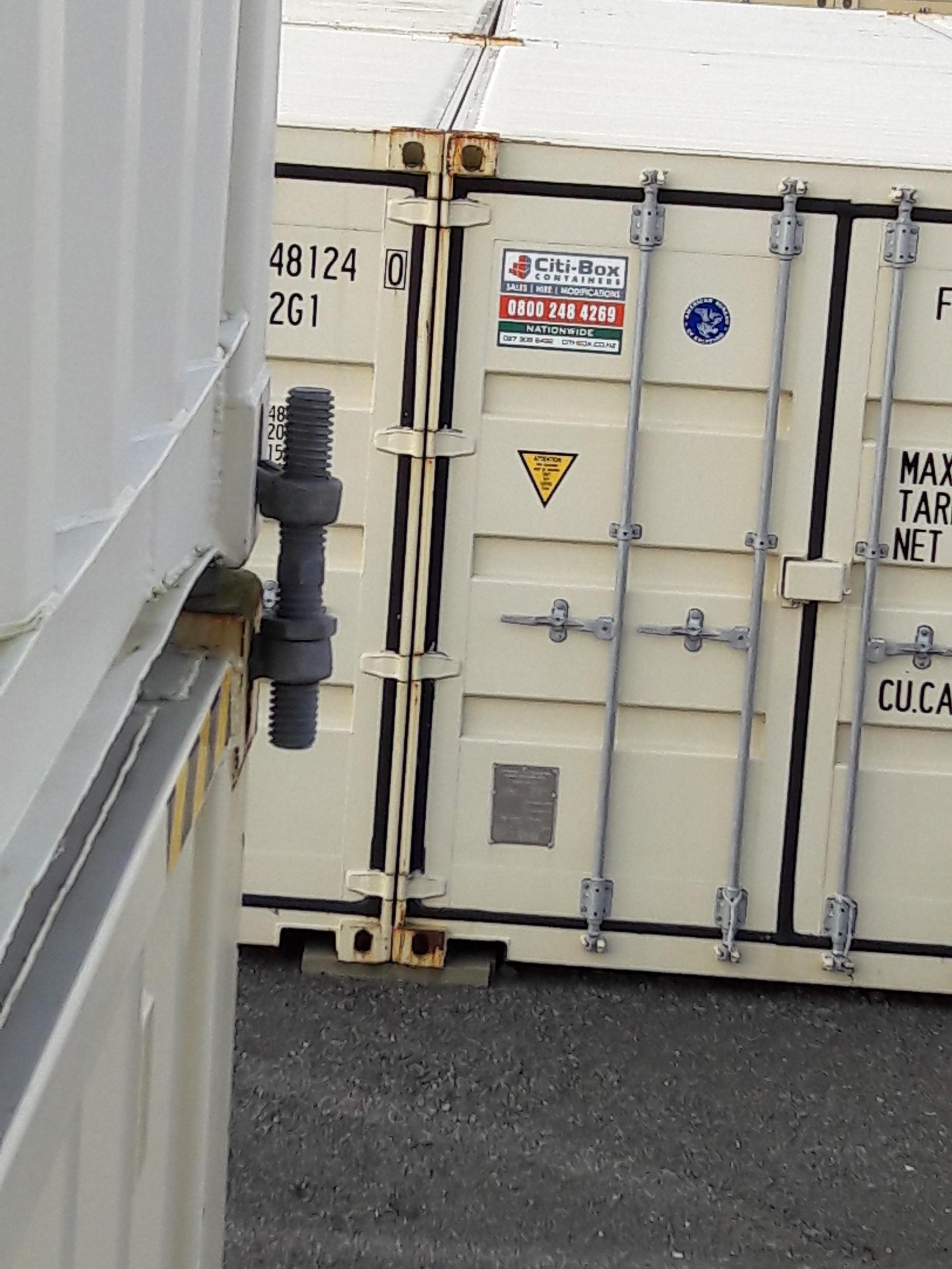 Shipping Container Bridge Fitting Ctbubf Citi Box